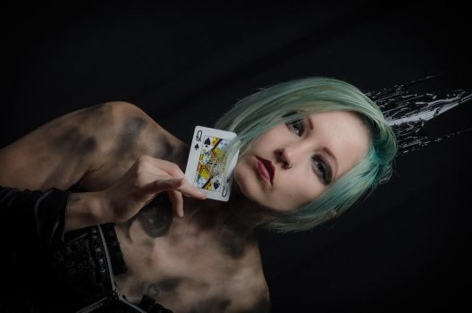 Queen of Spades by nikongriffin