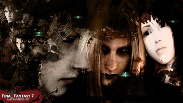 Villans and Heroes - the Fantastic 5 (FF7) by Amaranthos-fx