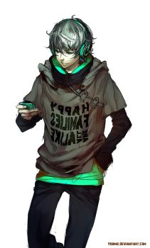 Fisheye Placebo: outfit design by yuumei
