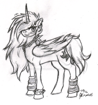 03 Sketch Request #2 - Moonbeam by chibimonk