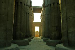 Luxor temple by francis1ari