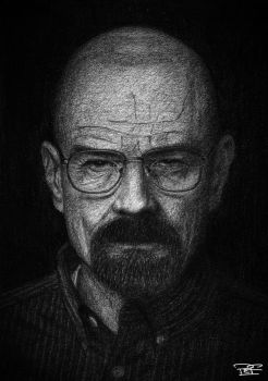 Walter White by artbypaulfisher