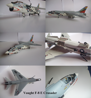 Vought F-8 E Crusader by Teratophoneus