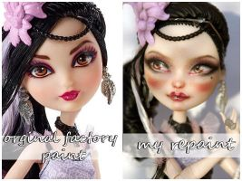 EAH Duchess Swan repaint before and after by kamarza