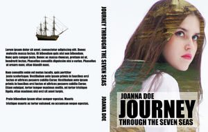 Book Cover Mockup - Journey Through The Seven Seas by ThePhotoLift