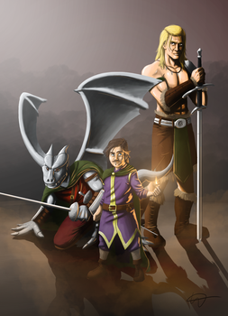 DnD Party by redhotmonk