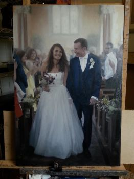Wedding painting by rorsdors