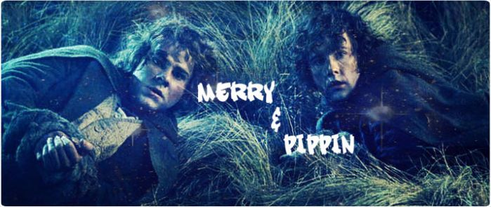 Merry and Pippin by DenaTook
