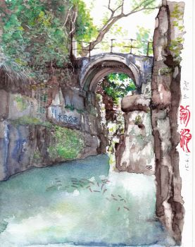 Sword Abyss, Suzhou by moyan