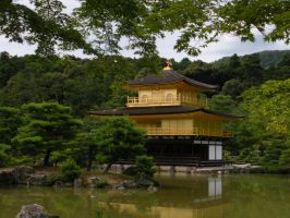 The Golden Pavilion by Delight046