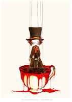 Madness In the Tea - Mad Hatter by j-b0x