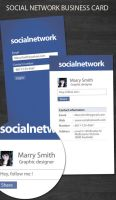 Social network business card by kimi1122