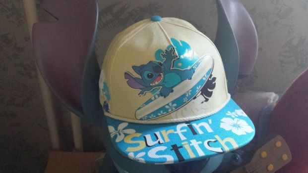 Awesome Stitch hat. by NeoseekerStitch