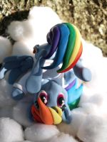 On Cloud Nine 2 by dustysculptures