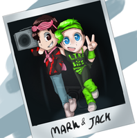 Mark and jack 80s pic by HiImThatGuy