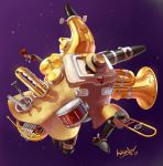 Big Band from Skullgirls by Comadreja