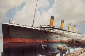 Preparing to Conquer the Sea by RMS-OLYMPIC