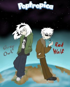 Owl And Wolf, Us Against The World by ChaosHammer