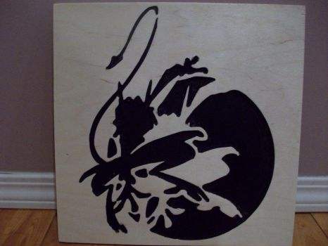 Namah Silhouette Carving by KYMSnowman