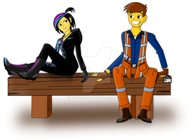 Emmet And Wyld Style by AzorMB