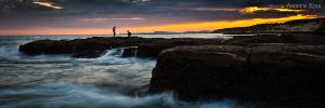 Rock Fishing by andyjimmy