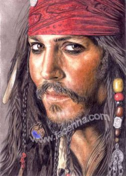Jack Sparrow by Facenna