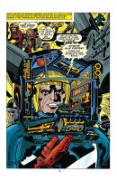 Captain Victory by JACK KIRBY recoloured by rikvanniedek