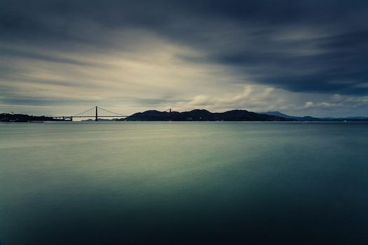 SF bay area on a gray day by LeMex
