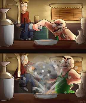 Making Good (explosions) by Mikky-Be