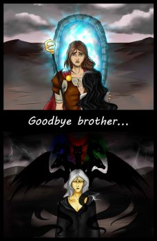 Goodbye brother by LindaNoul