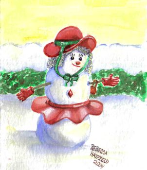 FancyHat SnOpeople series 4of5 by SwDreamWvr