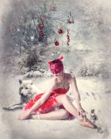 A red christmas by katmary
