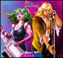 -FanXArt- Melodia and Riot by sirkrozz