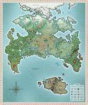 Twokinds World Map by Twokinds
