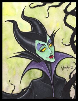Maleficent by BlueUndine
