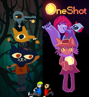 OneShot and NITW by AirwaveLOL