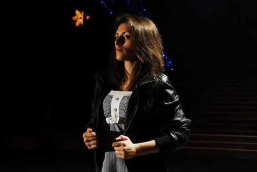 Me at night photo session by iSuperGirL1
