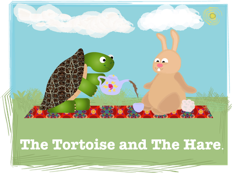 The Tortoise and the Hare by savvy-weasley