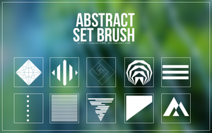 Brush Set #2 - abstract by Takeshi1995