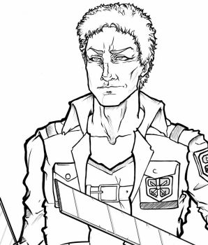 Reiner Braun SNK sketch by wei777