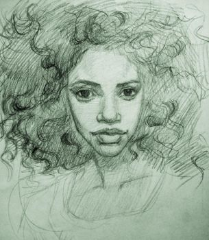 Curly Fro by VisionarySoLe