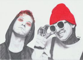 twenty one pilots by synystia