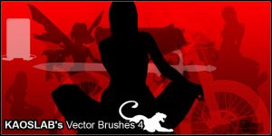 Silhouette Brushes 4 by Designjunkee