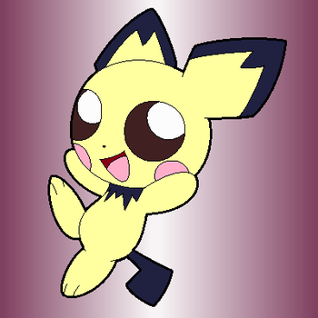 Happy Pichu by PsychoVdude13x