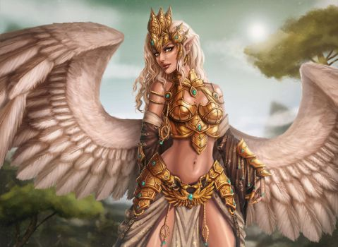 Gryphon Armor by Tropic02