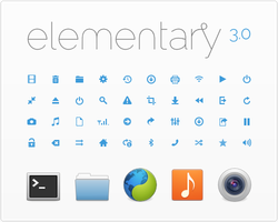 elementary Icons by DanRabbit