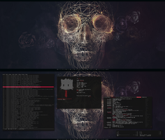 [arch] [awesome] September 2013 Desktop by transienceband