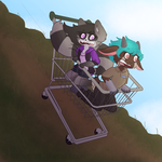 Little Ladies on a Big Adventure by Indighosty