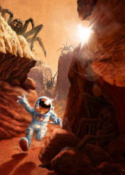 Major Tom and the Spiders from Mars by Plan-BE