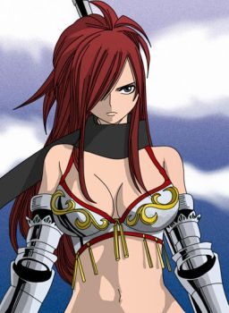 Erza Fairy tail Edoras by Giamini